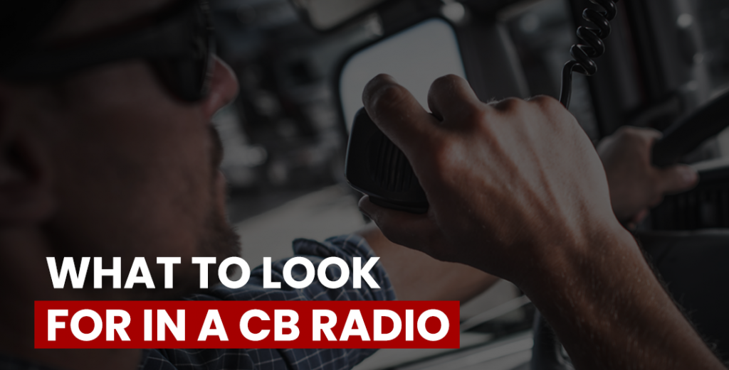 cb radio features